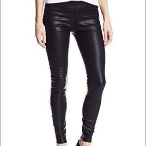 BLANKNYC Black Vegan Leather Pussy Cat leggings 26